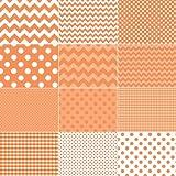 Riley Blake BASICS VARIETY Orange 10 inch