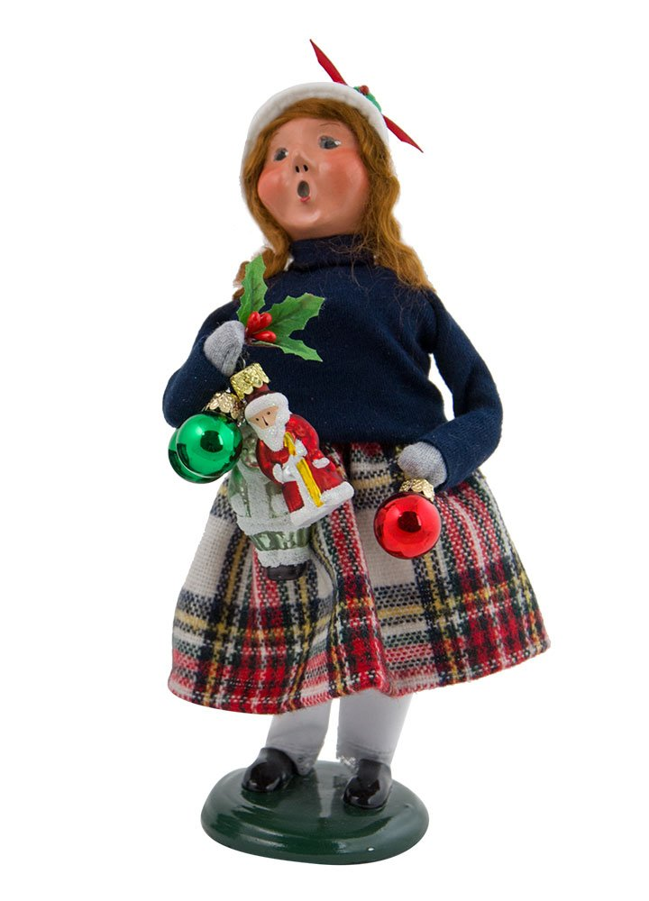 The Carolers Byers' Choice Ltd. Ornament Girl