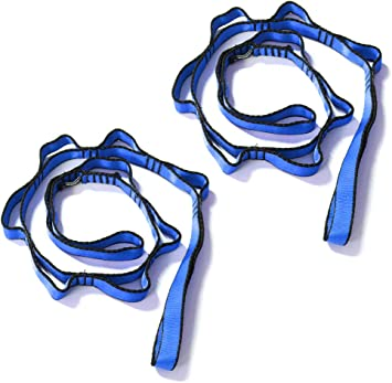 Amazon.com: kikigoal 2pcs Seguridad Daisy Cadenas cuerda de ...