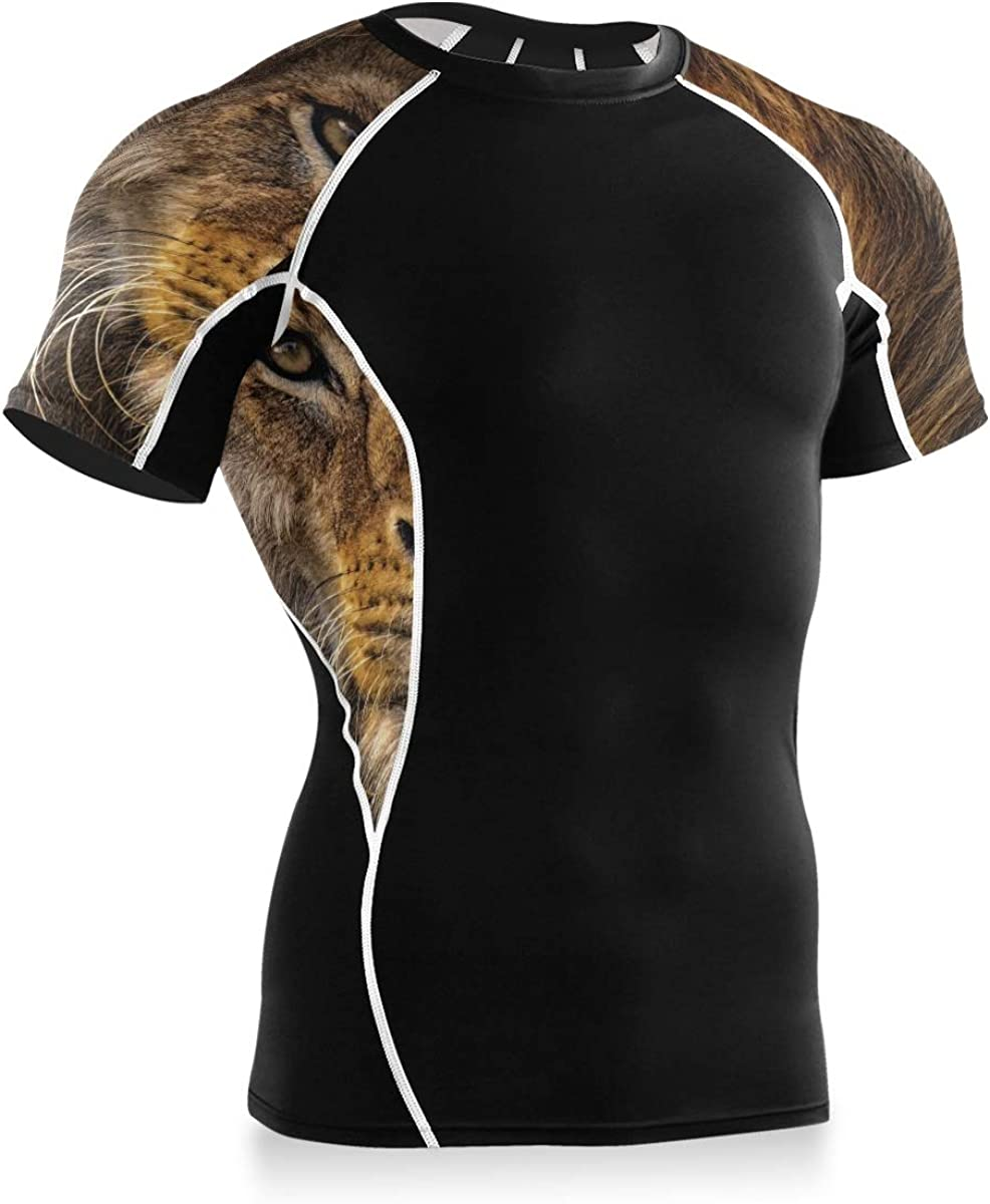 MONTOJ Serious Lion - Camisa de entrenamiento para bicicleta