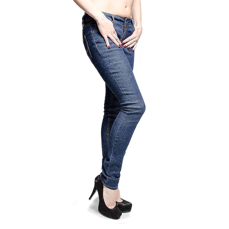 Bleeding Heart Womens Ultra Skinny Indigo Jeans