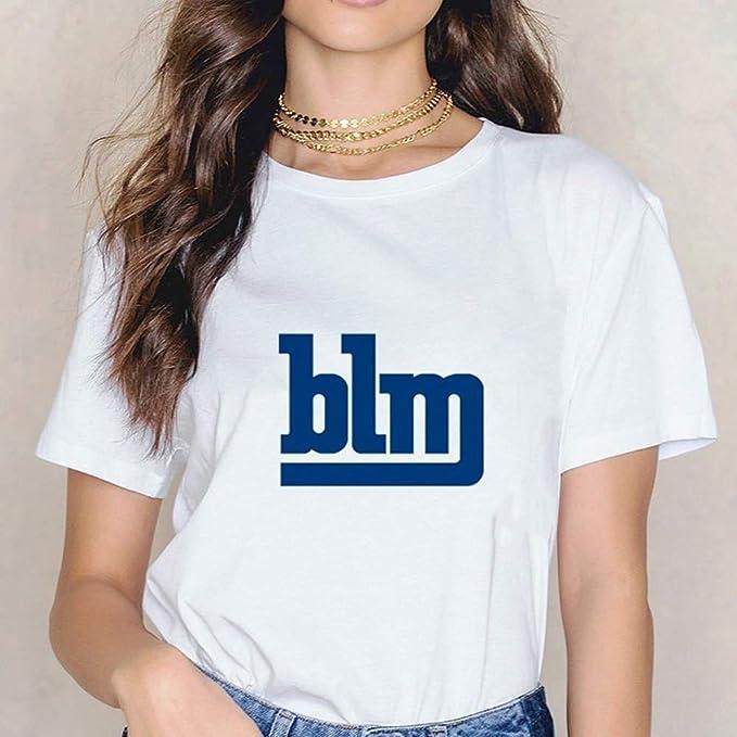 Yunbai Vidas Negro Materia Camisa Juntos Rise - Camiseta de ...