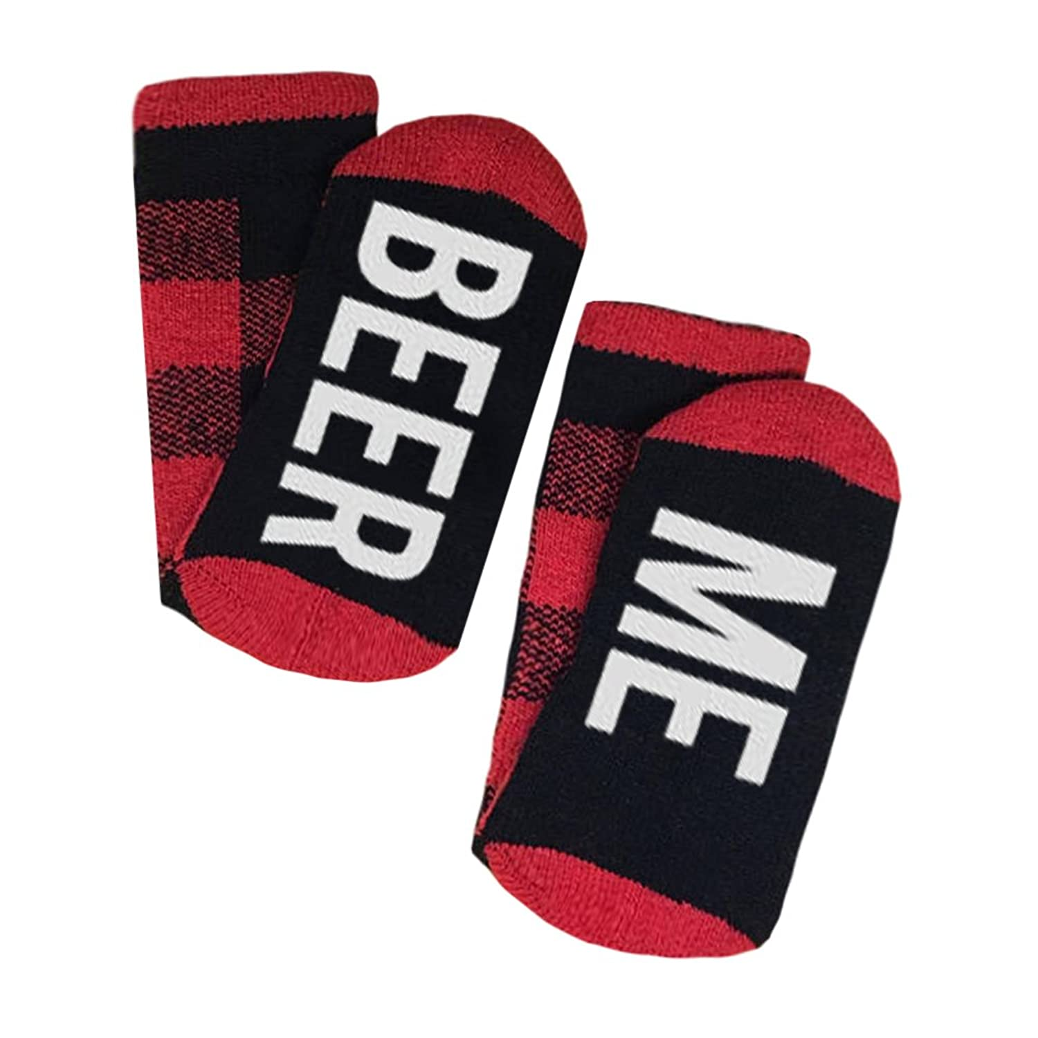 Socks Fun Christmas Crew Socks IF YOU CAN READ THIS BRING ME A GLASS OF WINE Men Women