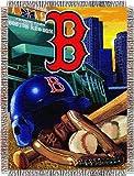 MLB Boston Red Sox Acrylic Tapestry Throw Blanket