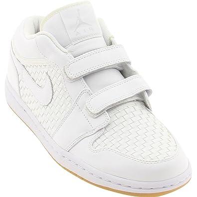 NIKE Air Jordan 1 Low Velcro Premier Size 8.0  Amazon.co.uk  Shoes   Bags 8e807a51e