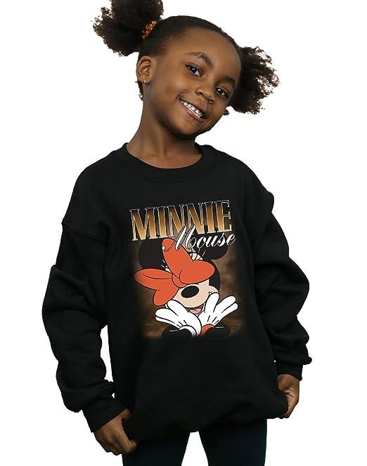 Disney Niñas Minnie Mouse Bow Montage Camisa De Entrenamiento: Amazon.es: Ropa y accesorios