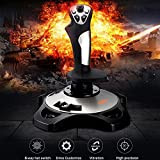 PC Joystick, USB Game Controller with Vibration