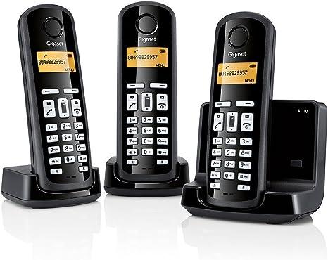Gigaset SI-AL110TRIO - Teléfono inalámbrico: Amazon.es: Electrónica
