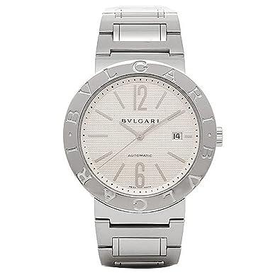 132c425f74bd Amazon.co.jp: [ブルガリ] 腕時計 BVLGARI BB42WSSDAUTO ホワイト ...