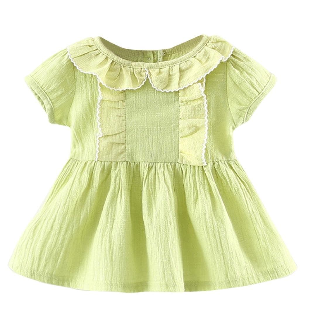 Chshe - Falda - para bebé niña verde 6 Meses: Amazon.es: Ropa y ...