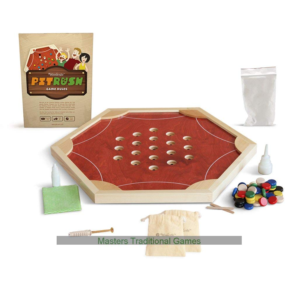 Pitrush - Disk Flicking Game (Cherry) B07RZYVTLF
