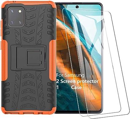 HAOYE Cover per Samsung Galaxy Note 10 Lite 10 Lite Blu