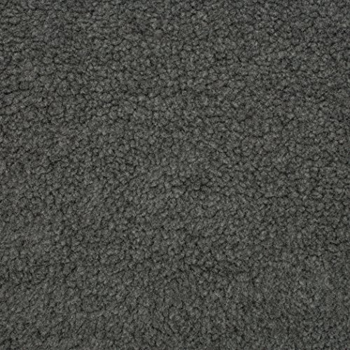 Shannon Fabrics Shannon Sherpa Faux Fur Charcoal Fabric by The Yard,