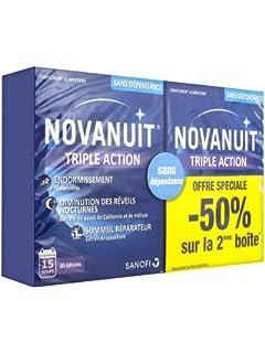 Novasanté – Novanuit Sommeil – Complemento alimenticio para conciliar el sueño - Juego de 2