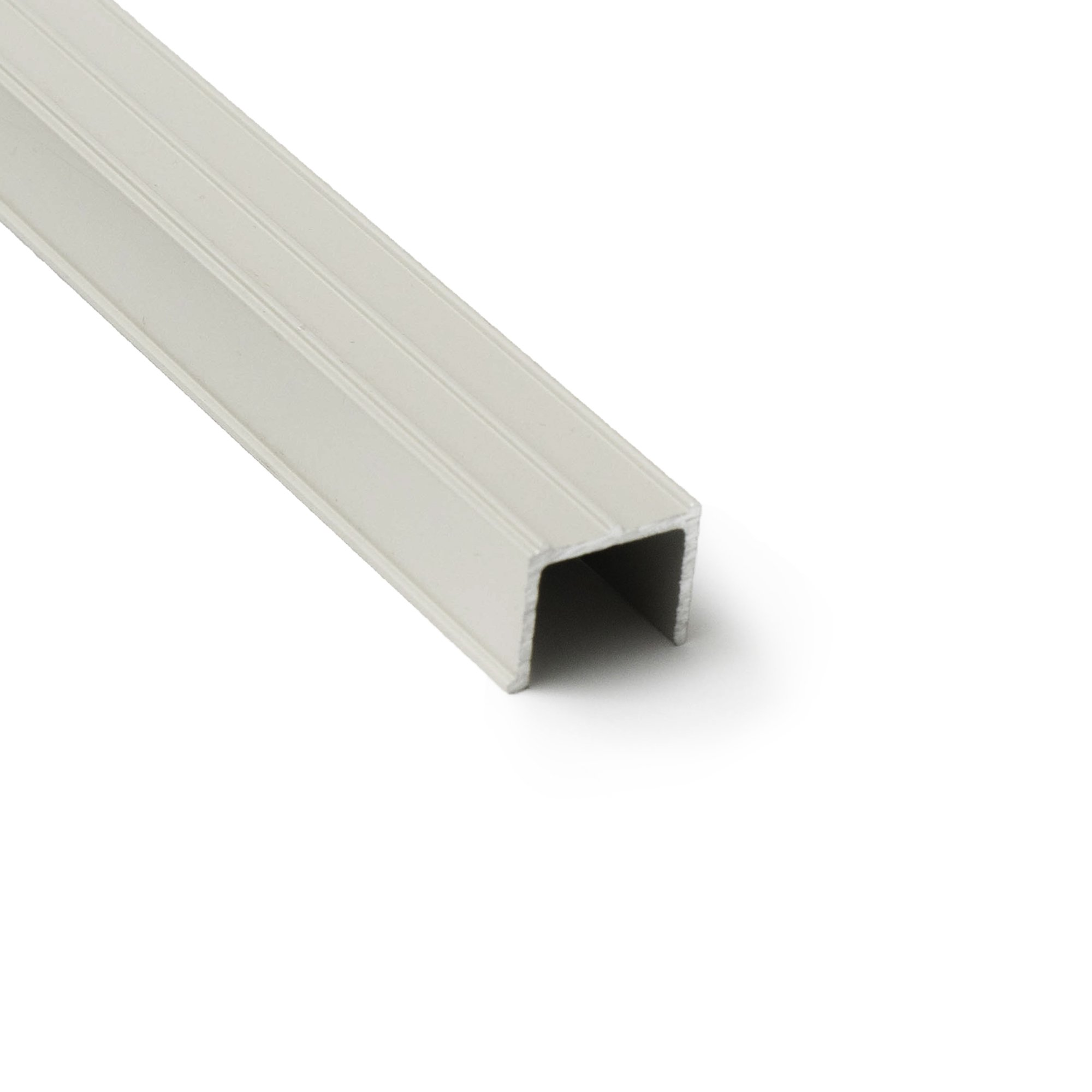 Sliding Screen Door Tracking - Side Jamb Channel (Almond)