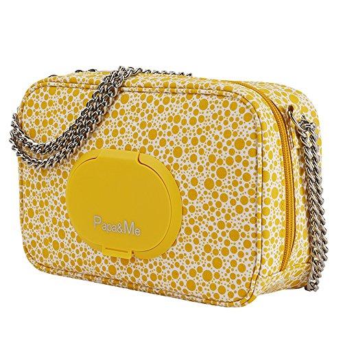 Moda fuera del hombro multi-funcional para mencionar el agua madre bebé bolsa, mamá bolsa, madre paquete ( Color : Naranja ) Amarillo