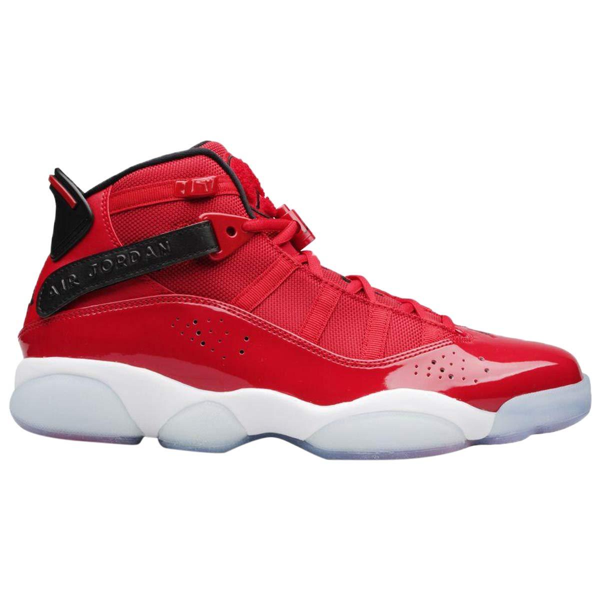 16874d6b639 Amazon.com | Jordan 322992-601: Men's Gym Red/Black/White 6 Rings Sneakers  | Shoes