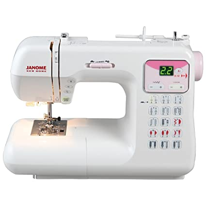 Amazon Janome DC40P Electronic Sewing Machine Impressive Reverse Button On Sewing Machine