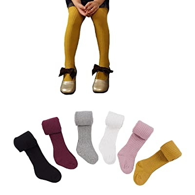 6 Pack Baby Girls Stocking Leggings Cotton PP Pants Tights