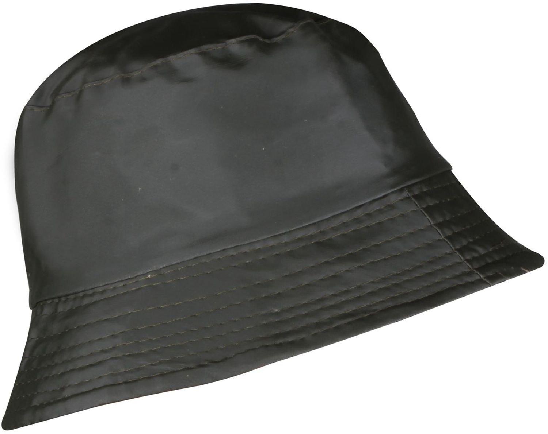 WDSKY Women's Rain Hats Waterproof Packable Black