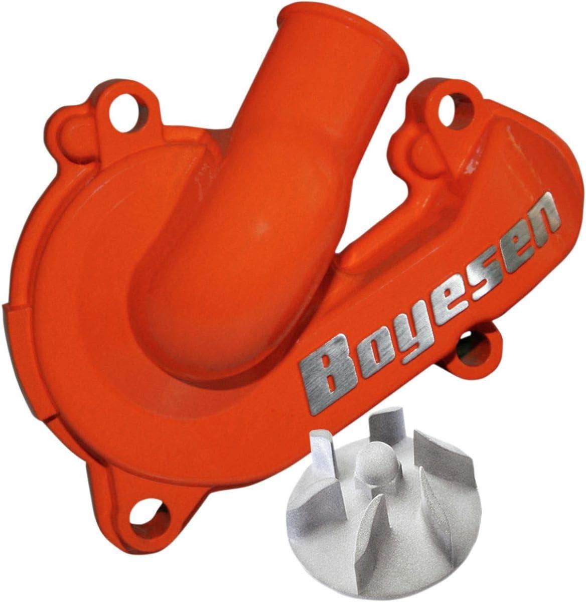 Boyesen WPK-44O Supercooler Water Pump Cover and Impeller Kit Orange