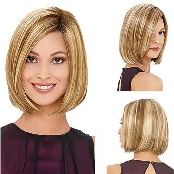 Pelucas de pelo con estilo pelucas de pelo corto / medio pelucas de mujeres sinté