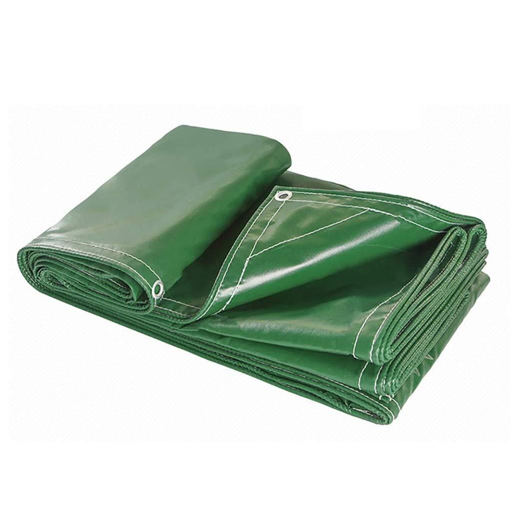 防水シートグリーン、100%全天候型防水日焼け止め多層防水キャンピングカープールシェード、500g / M2 (サイズ さいず : 3*6m) B07RWCMPDJ  3*6m