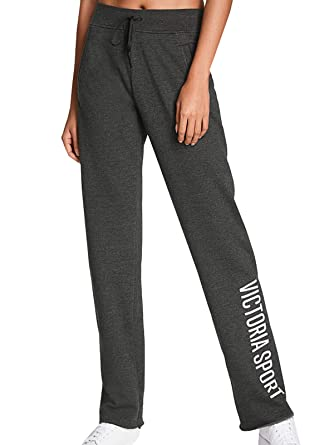 d9d4848d2d Victoria's Secret Sport Black Single Dye Low Graphic Boyfriend Pant ...