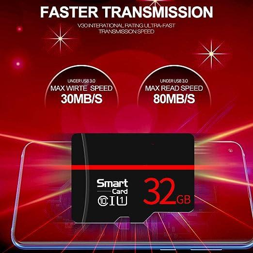 Amazon.com : Lay Class 10 Black 16GB 32GB 64GB 128GB Sd Card ...