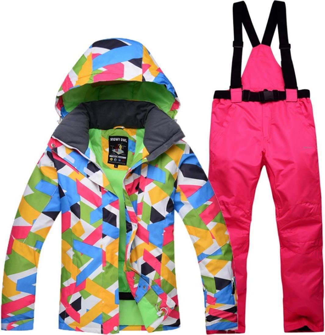 DAMEIFEITUN 女性の防風スキー スーツ防水スキーパンツ(S-XL) (色 : 05, サイズ : S)  Small