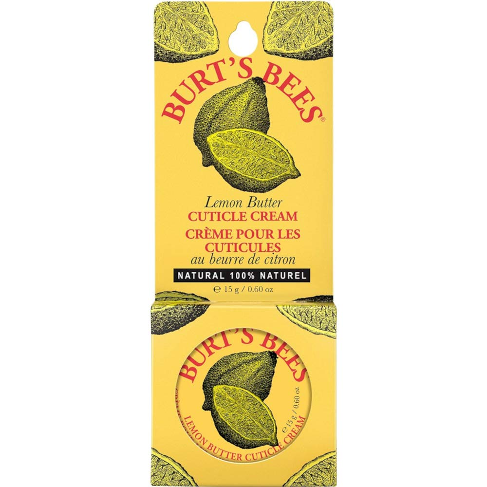 Burt's Bees Lemon Butter Cuticle Cream, 0.6 Ounces each (Value Pack of 24)