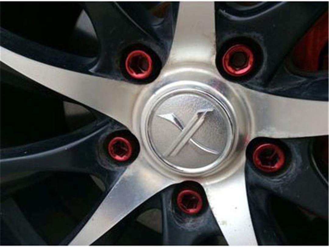 32Mm M12x1.5//1.25 Racing Car Wheel Lug Nuts Wheel Rims Lug Nuts Car Accessories Silver 16pcs M12x1.5