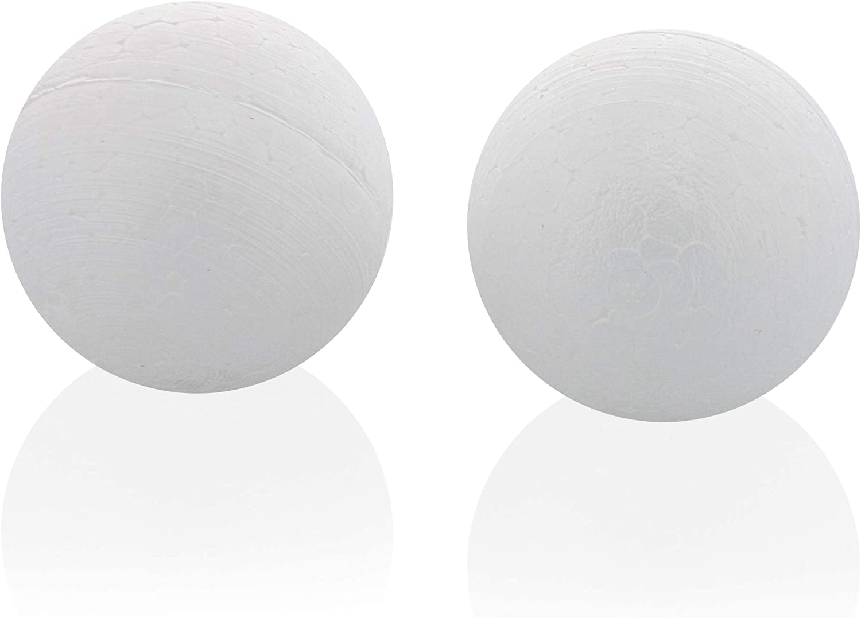 bianco Mini schiuma geometrica solidi set