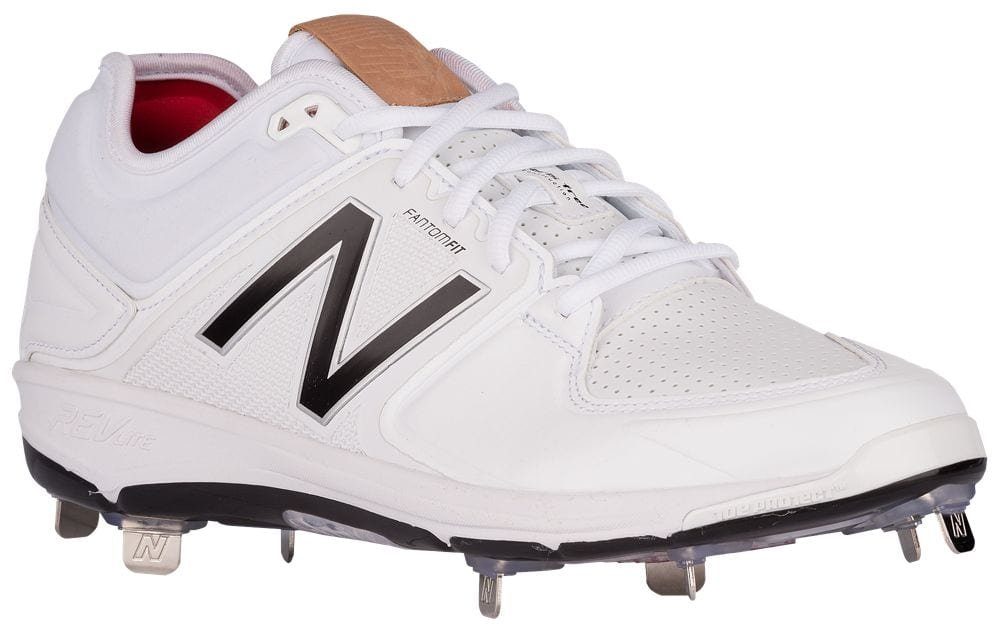 [ニューバランス] New Balance 3000V3 Metal Low メンズ ベースボール [並行輸入品] B071P3LYYB US09.0|ホワイト/ブラック ホワイト/ブラック US09.0