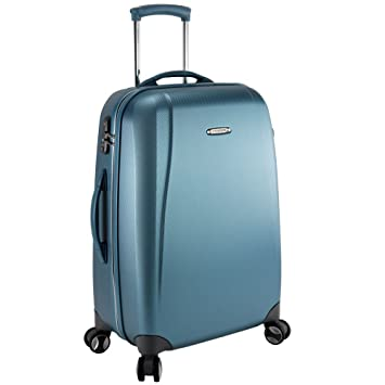 Roncato Carbon Light Maleta a 4 ruedas 69 cm Azurblau: Amazon.es: Equipaje