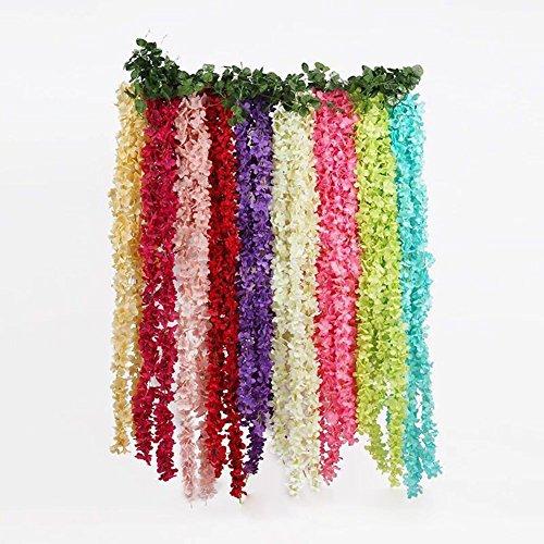 Meiliy-1-Pack-656-FT-Artificial-Hydrangea-Flower-Vine-Wisteria-Vines-Cattleya-Flowers-Plants-for-Home-Hotel-Office-Wedding-Party-Garden-Craft-Art-Decor-Red