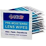 PARA-AID 预湿屏幕、镜头和玻璃清洁毛巾湿巾便携式旅行清洁剂,适用于眼镜相机和手机(散装 300 个)