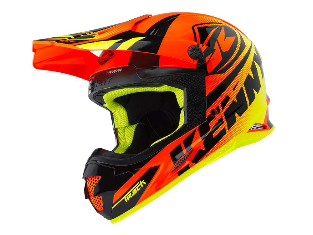 Taille M Lime KENNY Casque Cross Adulte Track