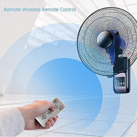 SMYH - Ventilador de pared silencioso con mando a distancia ...