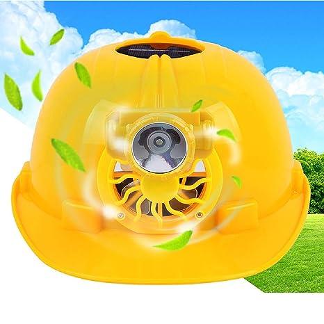 Filfeel Casco de Seguridad construcción protección Solar ...