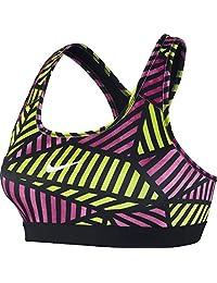 Nike Pro Womens Classic Web Sports Bra Black/Pink