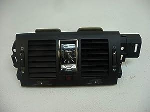 Morad Parts 06 DTS Black Dash Bezel Trim Panel Dash Vent Interior Clock Center Hazard Button