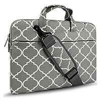 HSEOK Laptop Shoulder Bag for 12.9 iPad Pro / 13.3 Inch MacBook Air/Pro, Gray