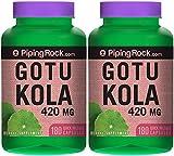 Gotu Kola 420 mg 2 Bottles x 180 Capsules