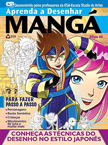 Amazon Com Aprenda A Desenhar Manga 02 Portuguese Edition Ebook