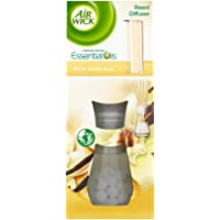 Air Wick Air Freshener, Reed Diffuser, White Vanilla Bean, 25 ml, Single