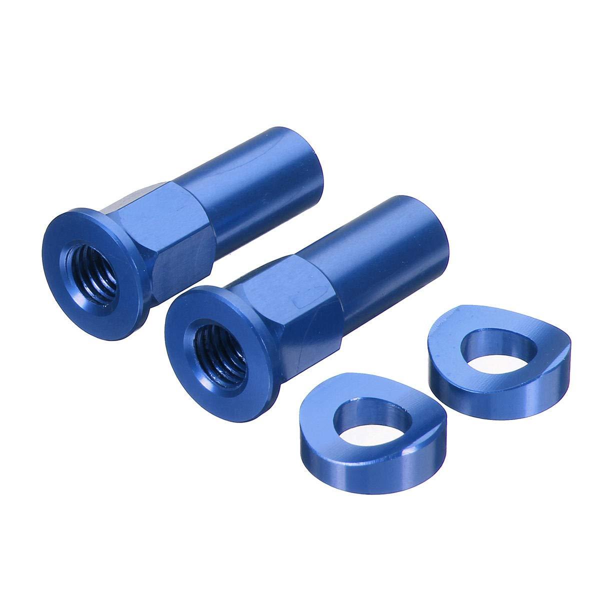 CNC Tusk Rim Lock Nuts Spacer Kit For Honda//Yamaha//KTM//Suzuki//Kawasaki//MX//Enduro Red - 2 X Rim Locks 2 X Washers Motorcycle Motorcycle Tires /& Parts -