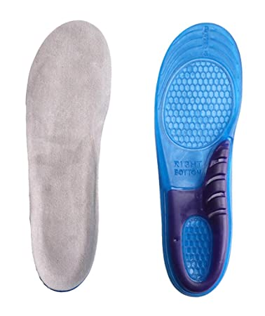 4a191c0d65364e Sports Gel Insoles and shoe inserts for Women and Men Comfort Shoe Insoles  arch support for