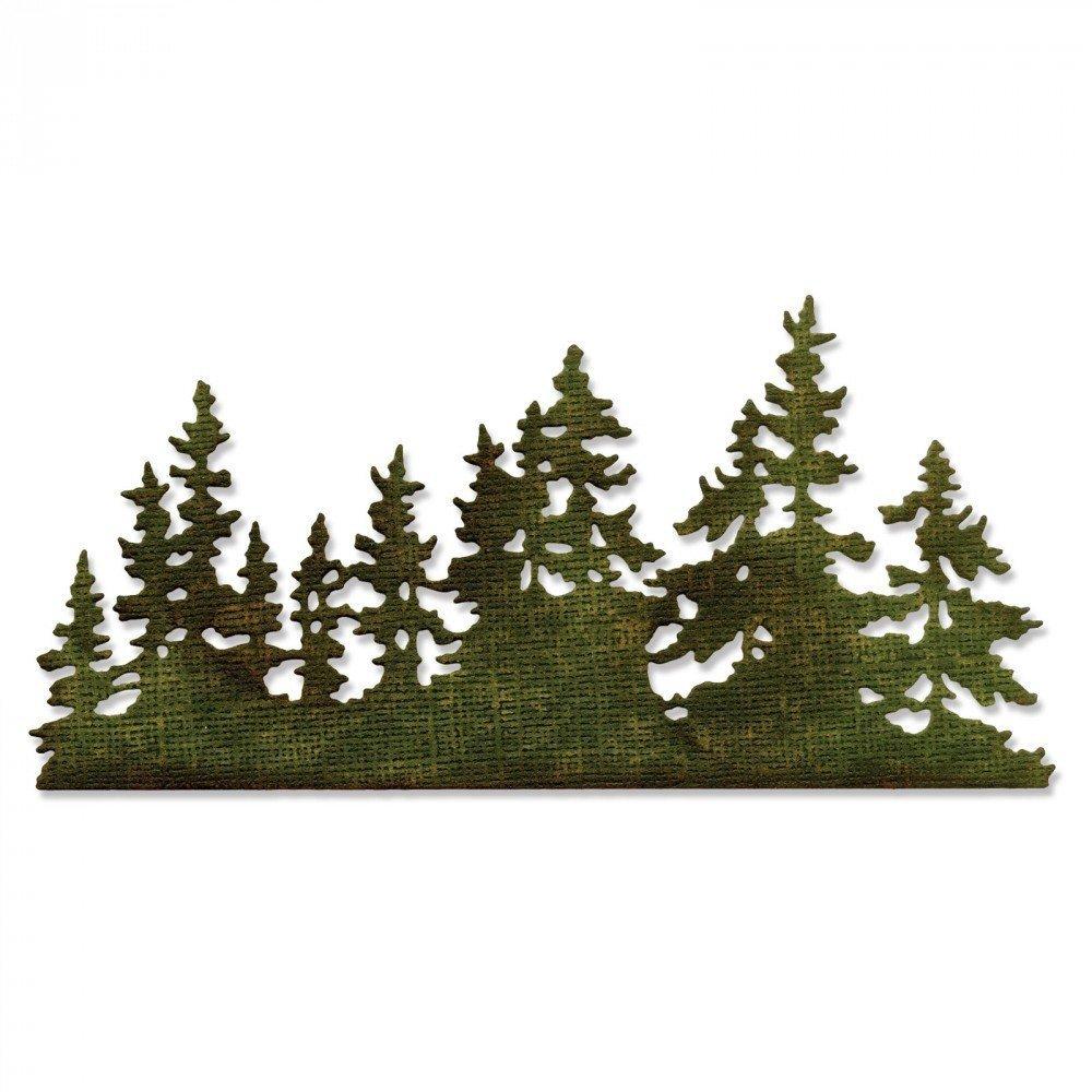 Sizzix 661604 Thinlits Die, Tree Line by Tim Holtz Ellison