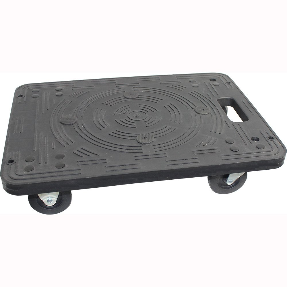 MaxWorks 80854 Polypropylene Dolly-200-lb Capacity